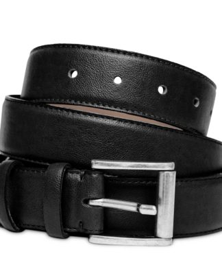 Watson & Wolfe Taylor Belt in Black   Ethical State