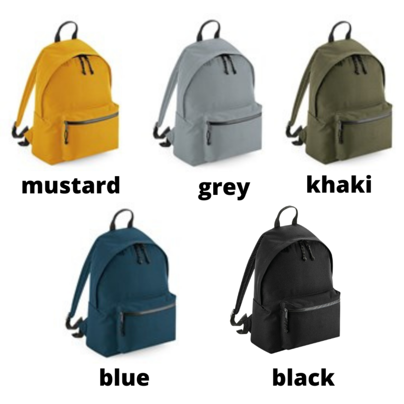 back pack colours