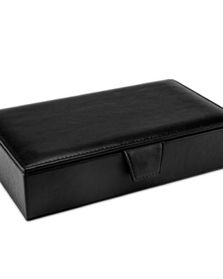 Watson & Wolfe Islington Accessory Box in Black | Ethical State