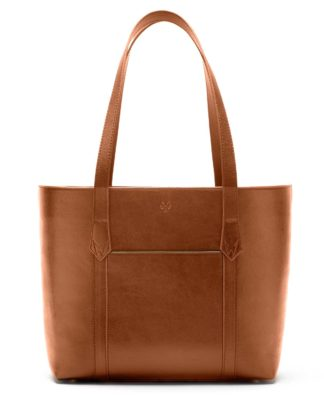 Watson & Wolfe Maddox Tote in Cognac | Ethical State