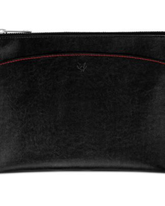 Watson & Wolfe Pouch in Black | Ethical State