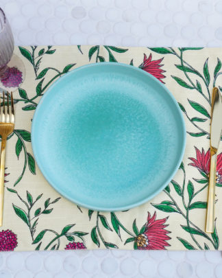 Firdos Floral Placemats - Set of 2