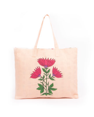 Juhi Recycled Cotton Beach Tote Bag